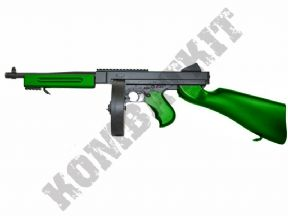 M811 BB Gun | M1A1 Tommy Commando Style Electric Airsoft Rifle 2 Tone | KOMBATKIT SHOP